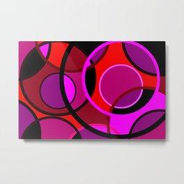 Circles 118 Metal Print