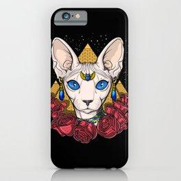 Egyptian Sphynx Cat Pharaoh iPhone Case