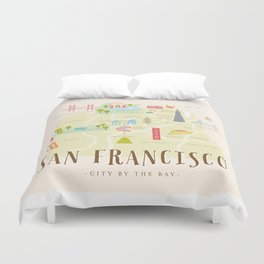 millefeuille Duvet Cover