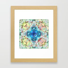 Cogwheel Heaven, 2070z12 Framed Art Print
