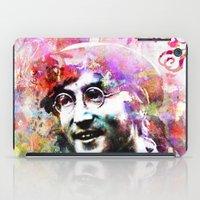 john iPad Cases featuring John by Nato Gomes