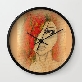 Red's Love Letter Wall Clock
