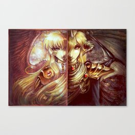 Two Ways Canvas Print