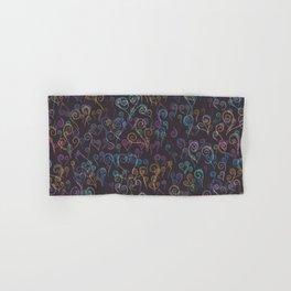 Pixelated Spirals Hand & Bath Towel