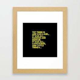 Little Things Framed Art Print