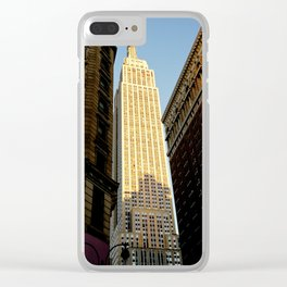 Squeeze in There Clear iPhone Case