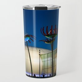 Seattle Glass Flowers Space Needle Travel Mug
