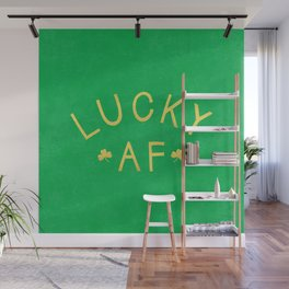 Lucky AF Wall Mural