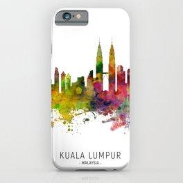 Kuala Lumpur Malaysia Skyline iPhone Case