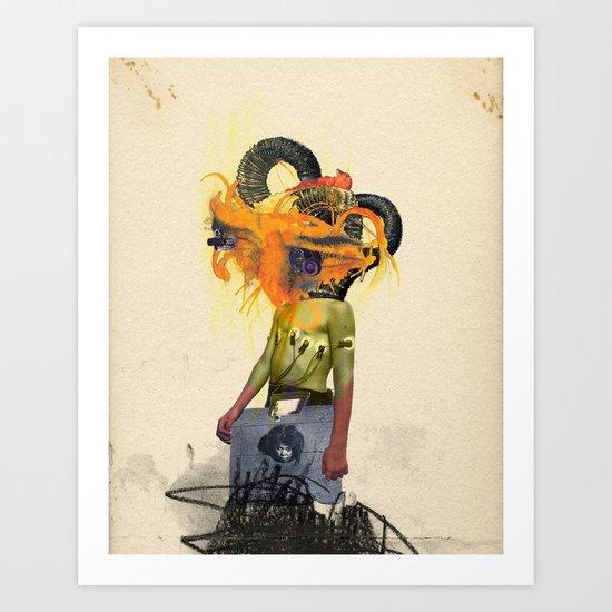 Mingadigm | See Me Art Print