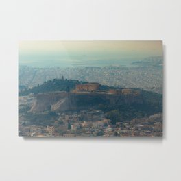 The Acropolis Metal Print
