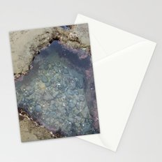 the heart shaped tide pool  Stationery Cards