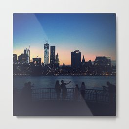Brooklyn Bridge Park Metal Print