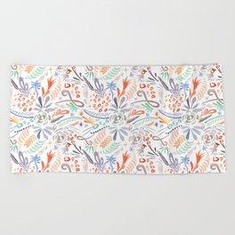 Whimsical Wind Beach Towel