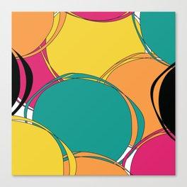 Abstract Circls Canvas Print