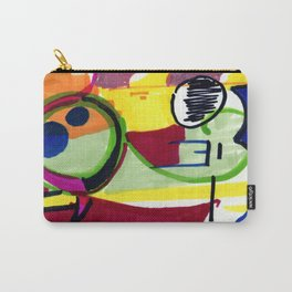 Frog of the Loom Carry-All Pouch