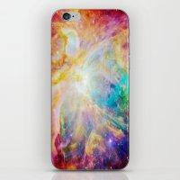 nebula iPhone & iPod Skins featuring nEBula : Colorful Orion Nebula by 2sweet4words Designs