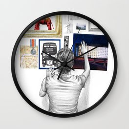 Maccas Poster Wall Clock