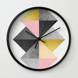 Minimalist fashion and golden Wall Clock