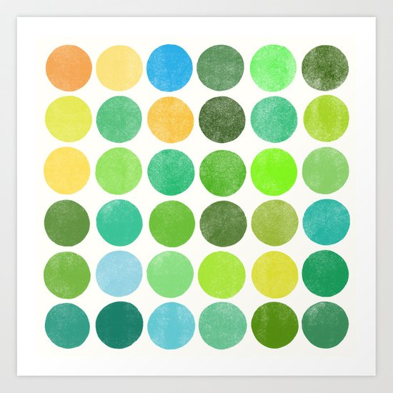 colorplay 11 Art Print