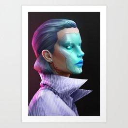 cyberpunk-5th Art Print