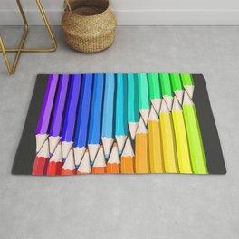Rainbow of Creativity Rug