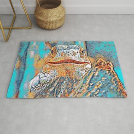AnimalMix_Iguana_005_by_JAMColors Rug