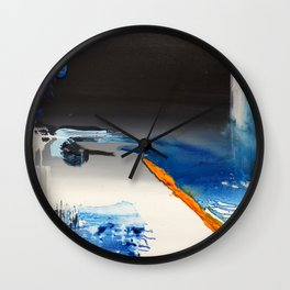 Edge of the Cliff Wall Clock