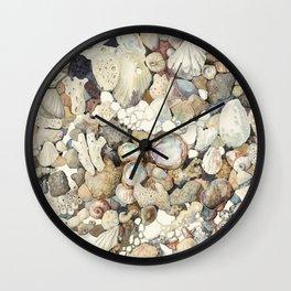 Sea shore Eilat Wall Clock