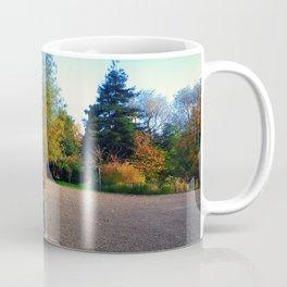 Wooden bench Coffee Mug