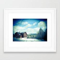 Ludlow VT Framed Art Print
