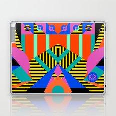 time warp test Laptop & iPad Skin