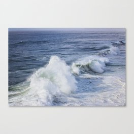 Waves Roll In Canvas Print