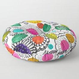 Floral Fun Floor Pillow