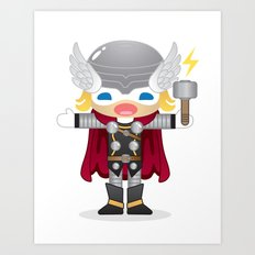 THOR ROBOTIC Art Print