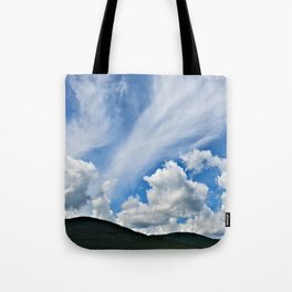 Cloud Path to the Milky Way Tote Bag