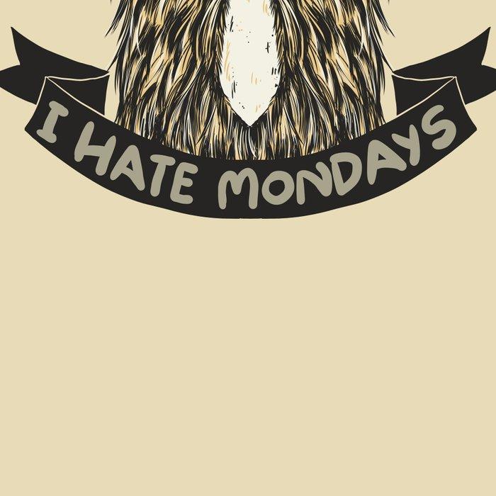 Chewie I Hate Mondays Leggings