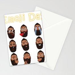 Harden Emoji Stationery Cards