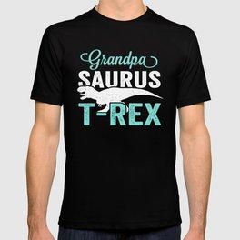 Grandpa Saurus Shirt T-shirt