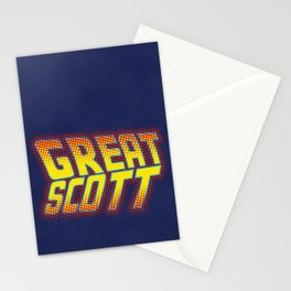 Great Scott Stationery Cards