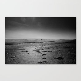 The northsea Canvas Print