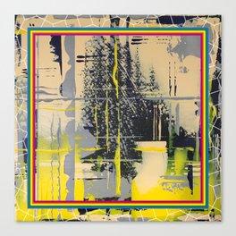 Sunday Morning - colour frame Canvas Print