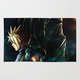Final Fantasy VII fanart Poster Rug