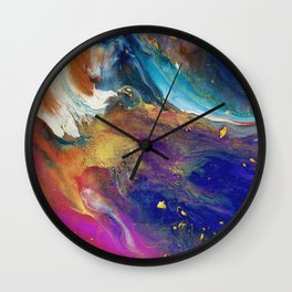 Colorflow Bright I Wall Clock