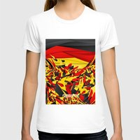 germany T-shirts featuring Germany by Danny Ivan