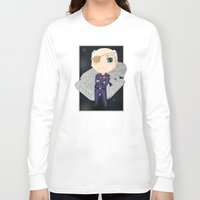 battlestar Long Sleeve T-shirts featuring Colonel Tigh 2 | Battlestar Galactica by The Minecrafteers