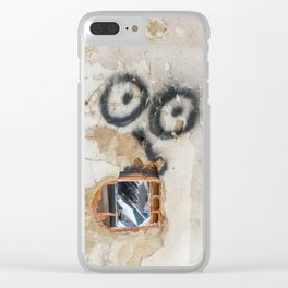 Wall-eyed Surprise Clear iPhone Case