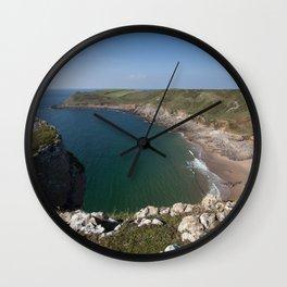 Fall Bay Gower Wall Clock