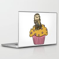 thorin Laptop & iPad Skins featuring Thorin & the Muffin by The Psychowl