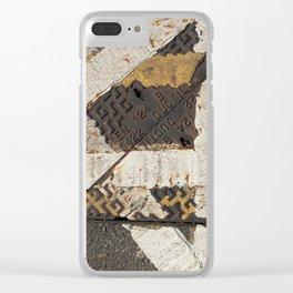 cross roads Clear iPhone Case